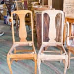 Early 1900's Dining Table and Chairs Refinishing Series – Part One
