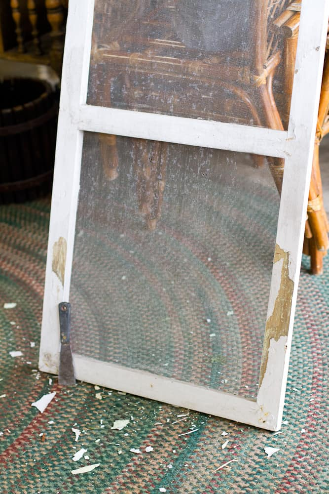 Old Screen Window