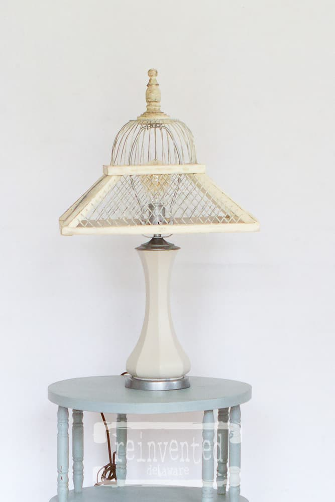 Easy Vintage Lamp Makeover