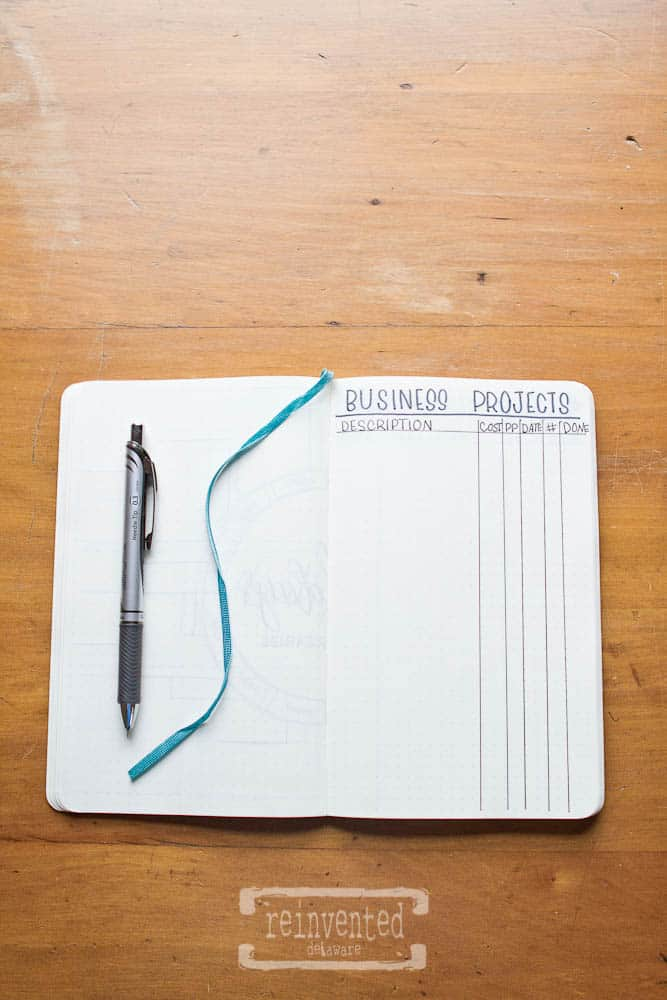 Bullet Journal for Small Business | Part Three