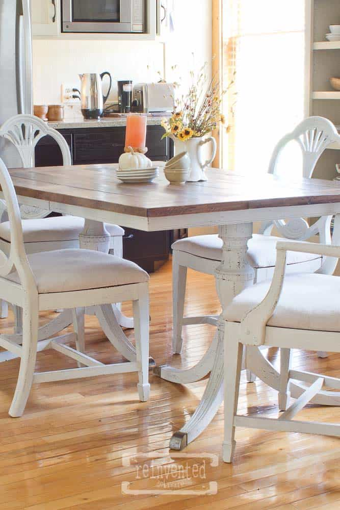 Duncan Phyfe Dining Set | Transformation