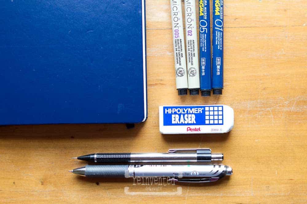 Bullet Journal Set Up