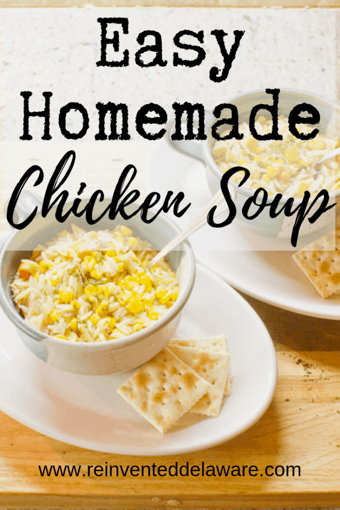Easy Homemade Chicken Soup-Stew