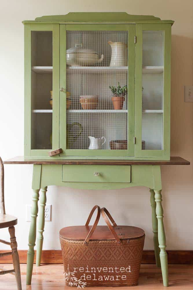 antique hutch makeover-31