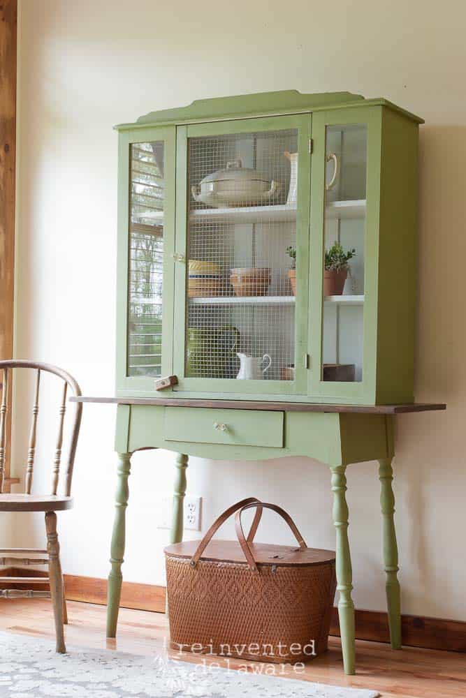 antique hutch makeover-32