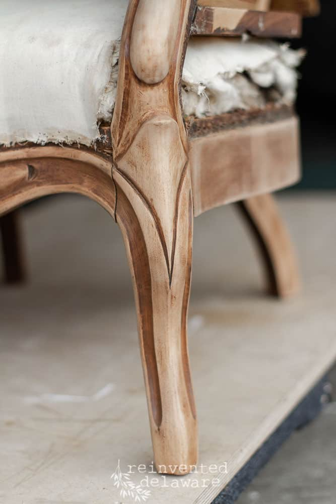 Carved Details | Victorian Upholstered Chair