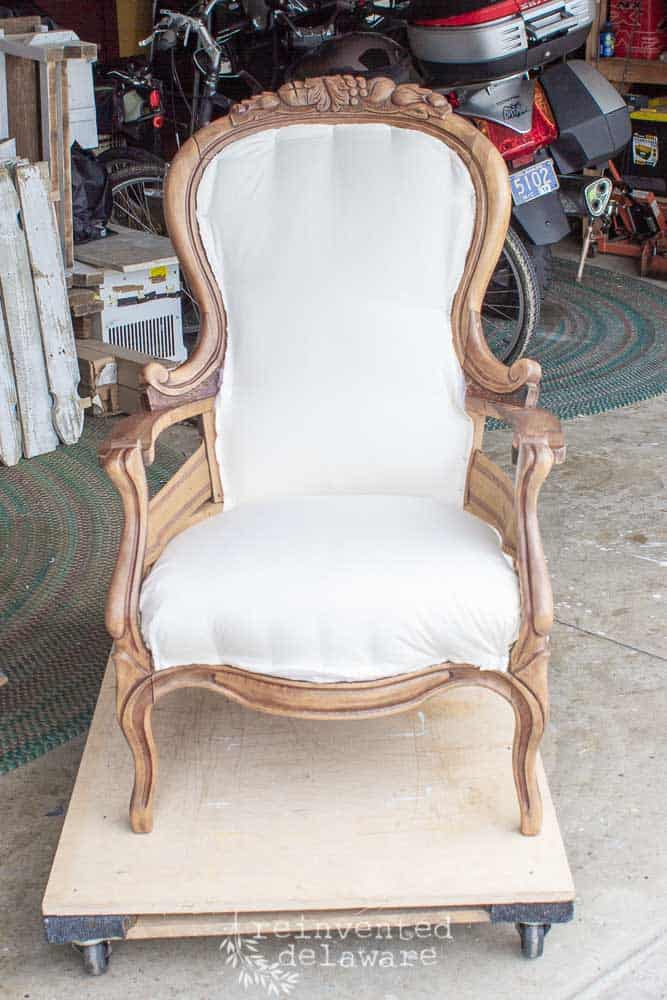 Reupholstered Antique Furniture Ideas