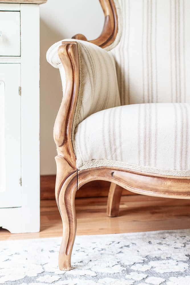 victorian chair reupholstery tutorial