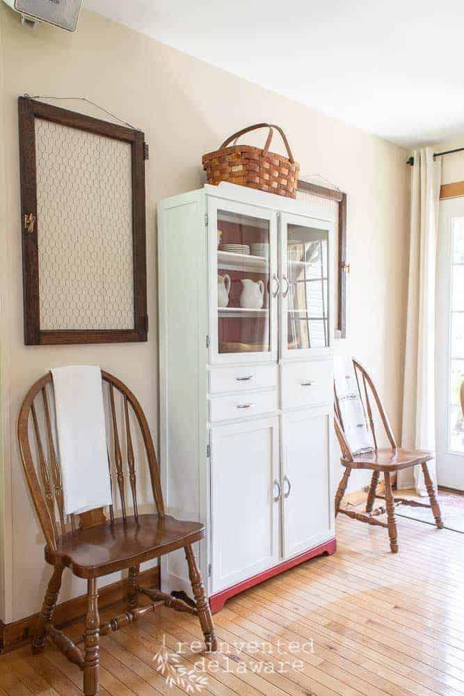 Vintage Kitchen Cupboard Reveal