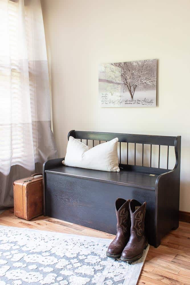 Solid Oak Bench | Easiest Project to Date