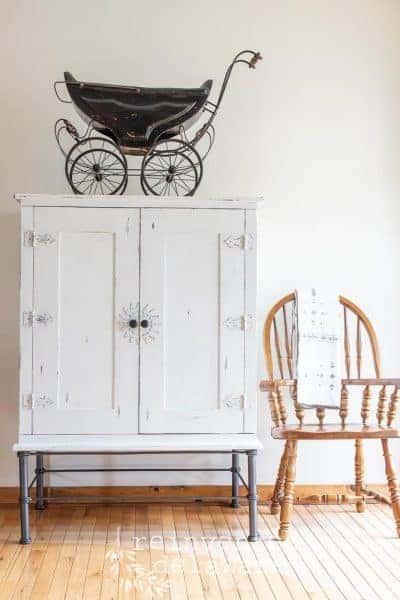 Pier One Cabinet Makeover | New Storage!