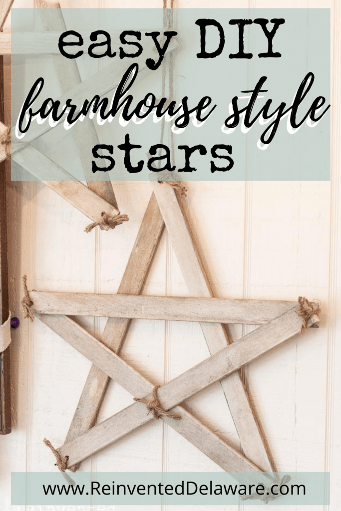 graphic showing handmade star and website name for tutorial
