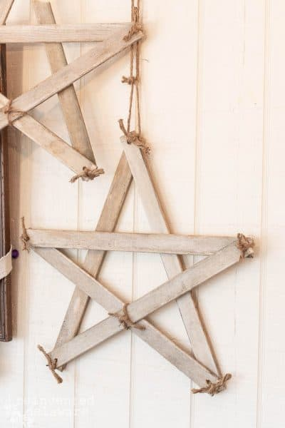 Farmhouse Style Stars | Easy DIY