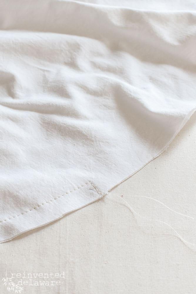 close up of foam cushion insert