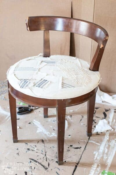 Chair Makeover Ideas | Vanity Stool