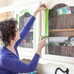 Tips for Applying Painter's Tape | Laundry Room Refresh