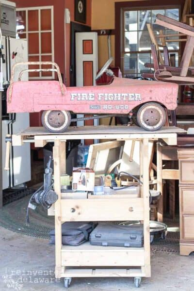 How to Clean Rust off Antique Metal |Toy Fire Truck