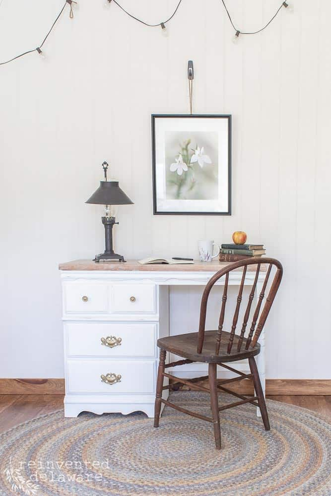 Desk Makeover Ideas | Before and After