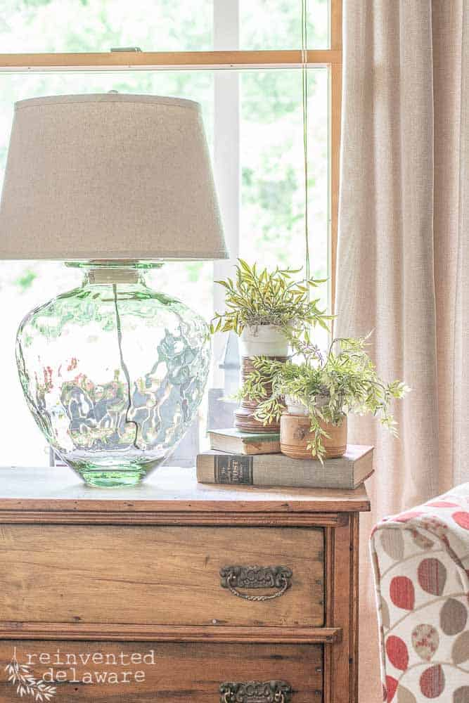 How to Upcycle a Glass Jar | Easy Lamp Project