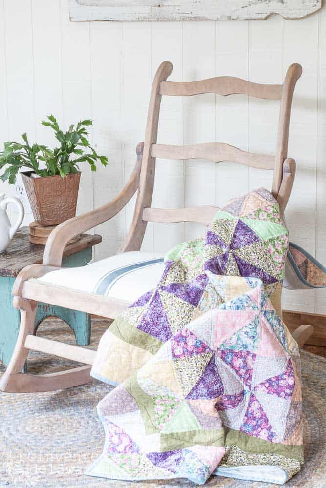 Rocking Chair Covering Ideas