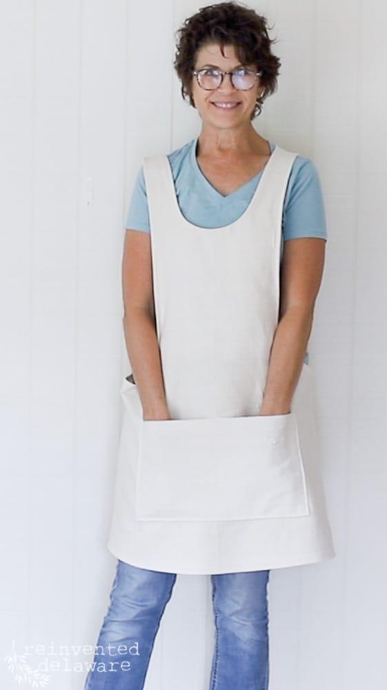 How to Sew an Apron | Back Wrap Apron