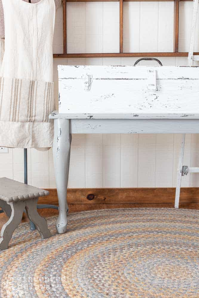 Wooden Tool Chest Upcycle