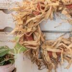 $5 Corn Husk Wreath